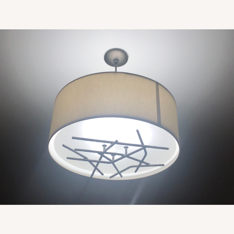 Semi-Flush Ceiling Drum Pendant - image-6