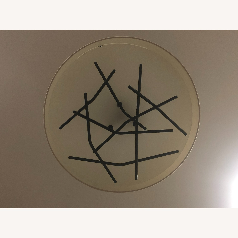 Semi-Flush Ceiling Drum Pendant - image-5