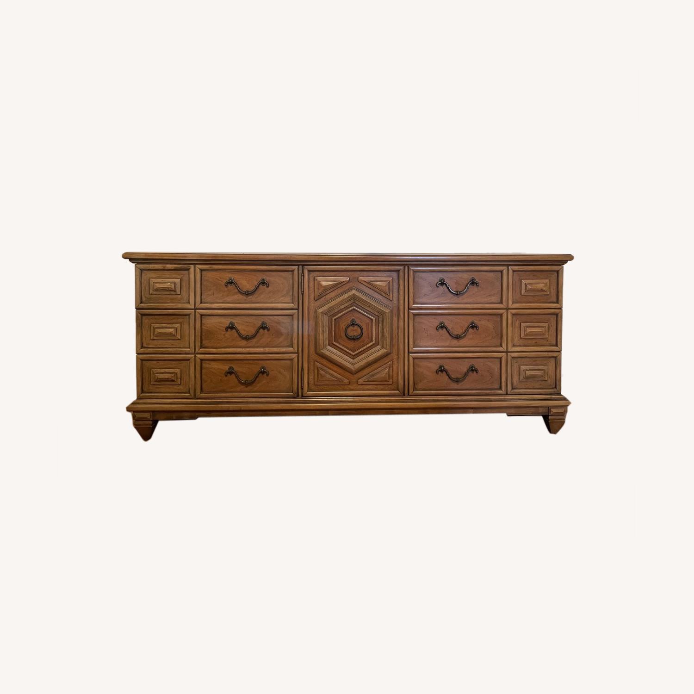 Long Wood Dresser - image-0