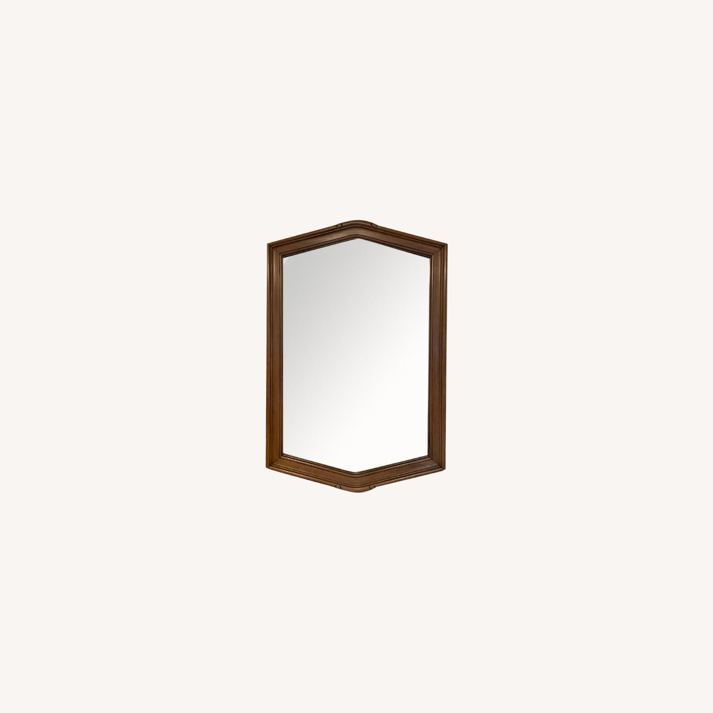 Wood Framed Mirror - image-0