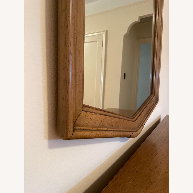 Wood Framed Mirror - image-3
