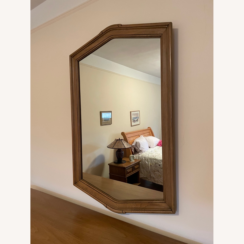 Wood Framed Mirror - image-2