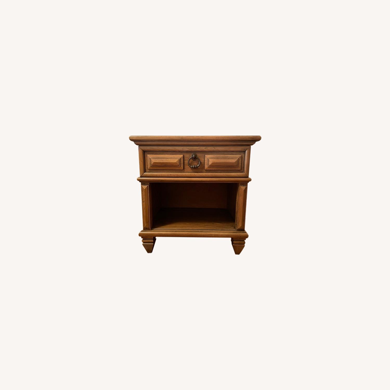 Wood Side Table - image-0