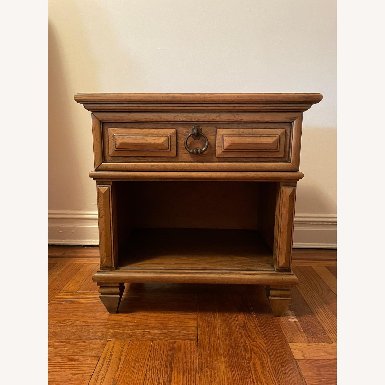Wood Side Table - image-1