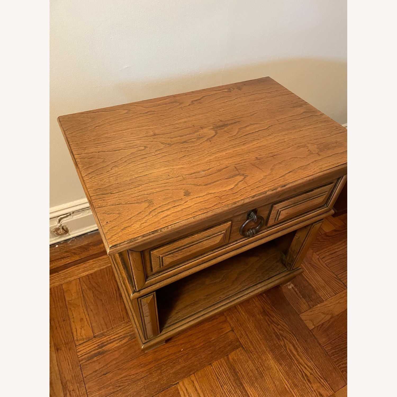 Wood Side Table - image-4