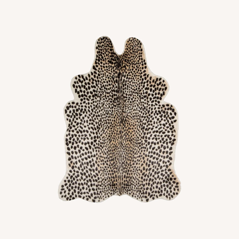 Wayfair Cheetah Faux Cowhide Rug - image-0