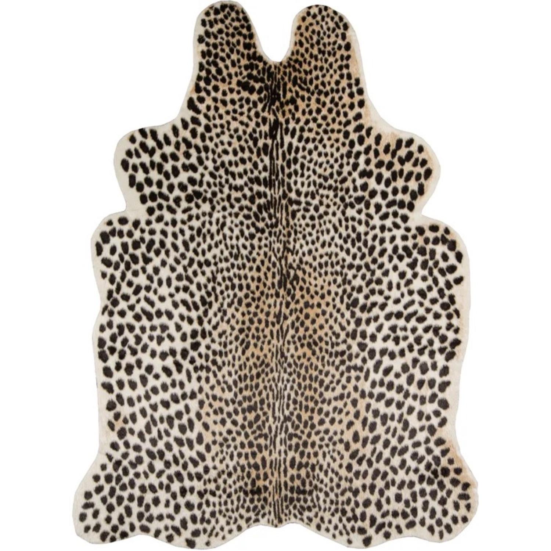 Wayfair Cheetah Faux Cowhide Rug - image-1