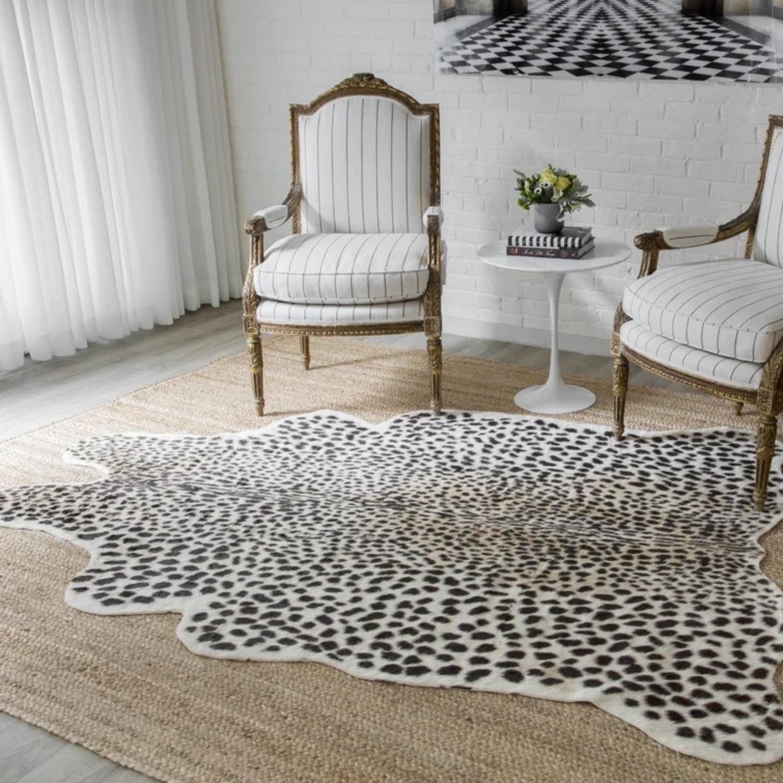 Wayfair Cheetah Faux Cowhide Rug - image-3