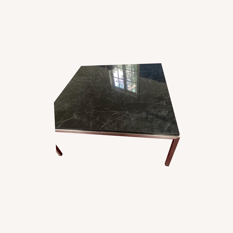 Room & Board Marble Coffee Table - image-0