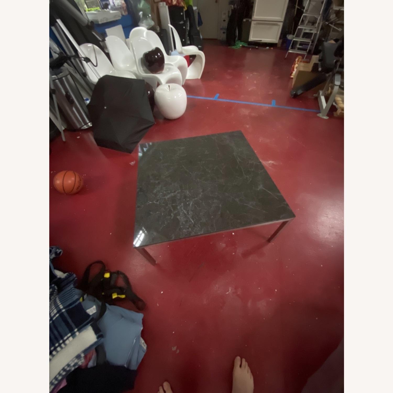 Room & Board Marble Coffee Table - image-5