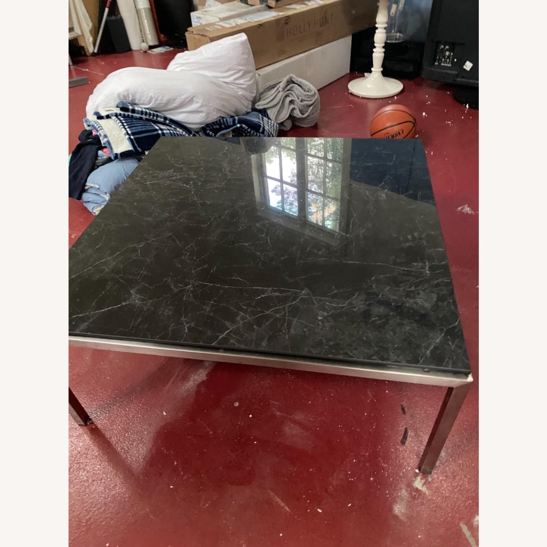 Room & Board Marble Coffee Table - image-1