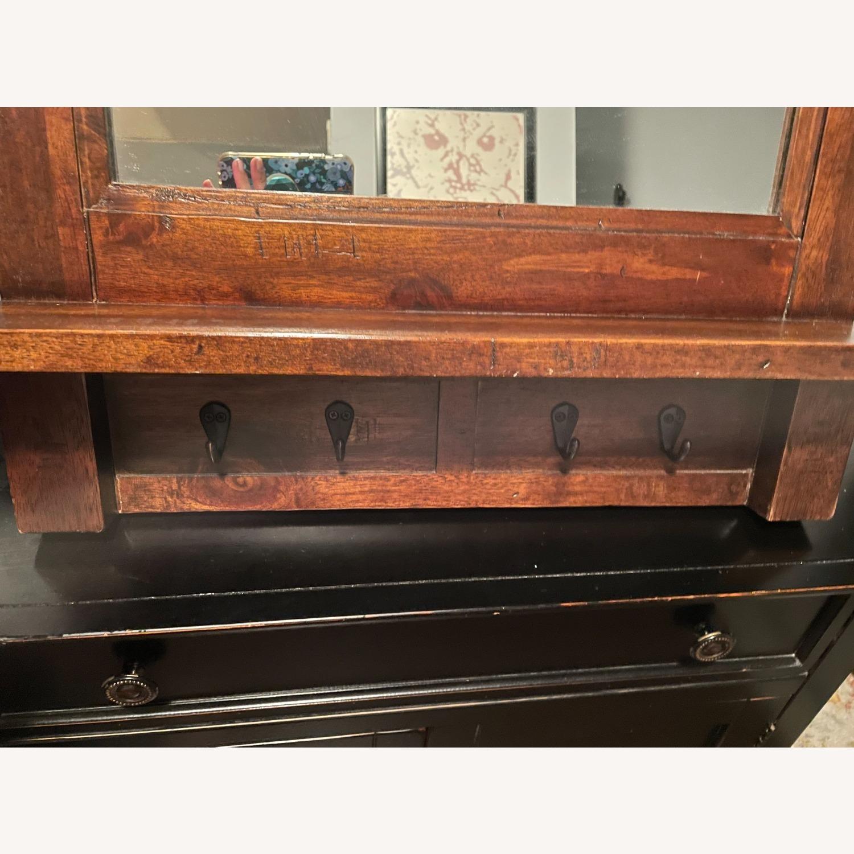 Arhaus Entry Mirror with Key Hooks - image-3