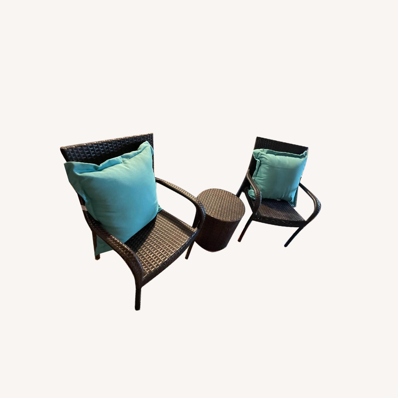 Zipcode Design 3-Piece Rattan Seat Group - image-0
