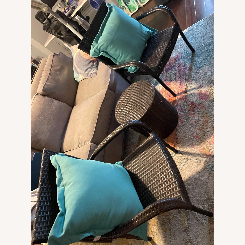Zipcode Design 3-Piece Rattan Seat Group - image-1