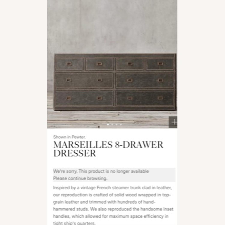 Restoration Hardware Marseilles 8-Drawer Dresser - image-1