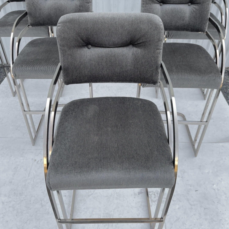 Vintage Modern Barstool by Daystrom Furniture - image-14