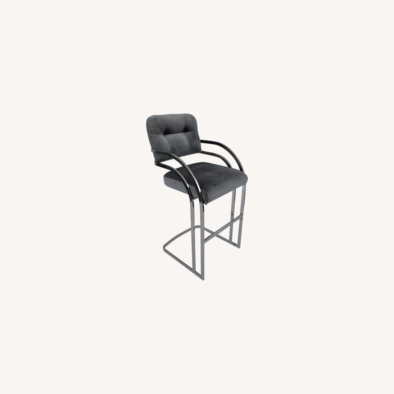 Vintage Modern Barstool by Daystrom Furniture - image-0