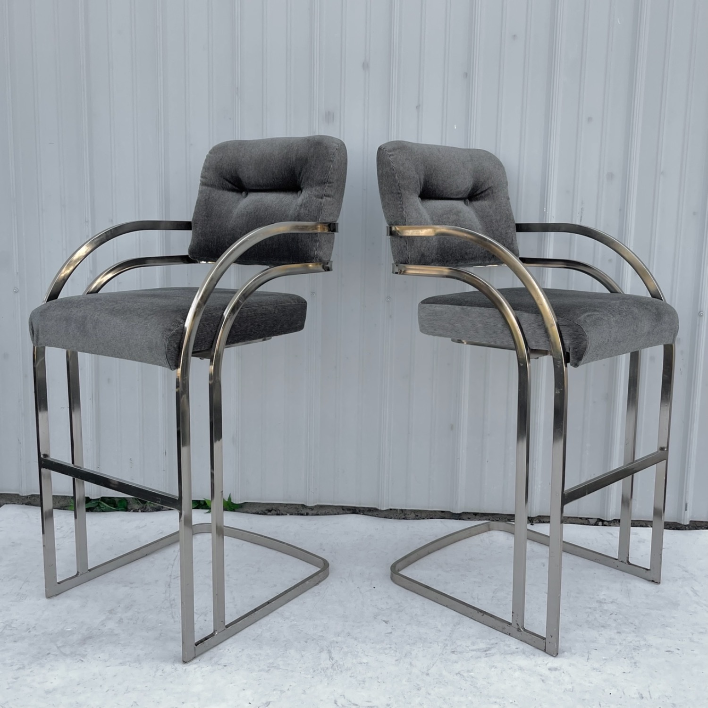 Vintage Modern Barstool by Daystrom Furniture - image-9