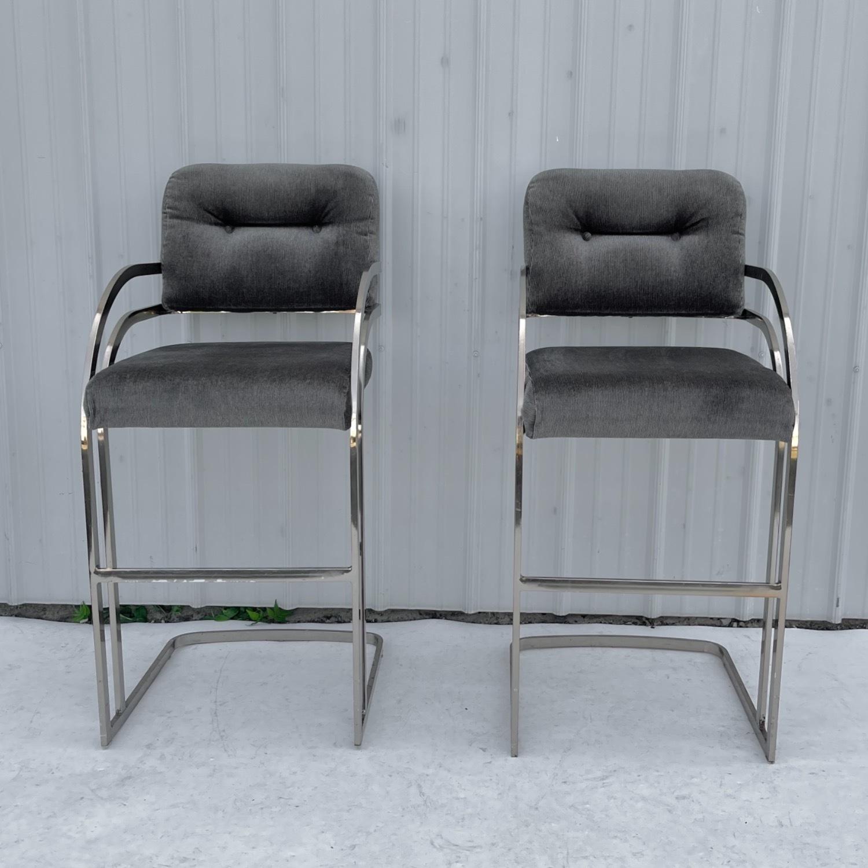 Vintage Modern Barstool by Daystrom Furniture - image-7