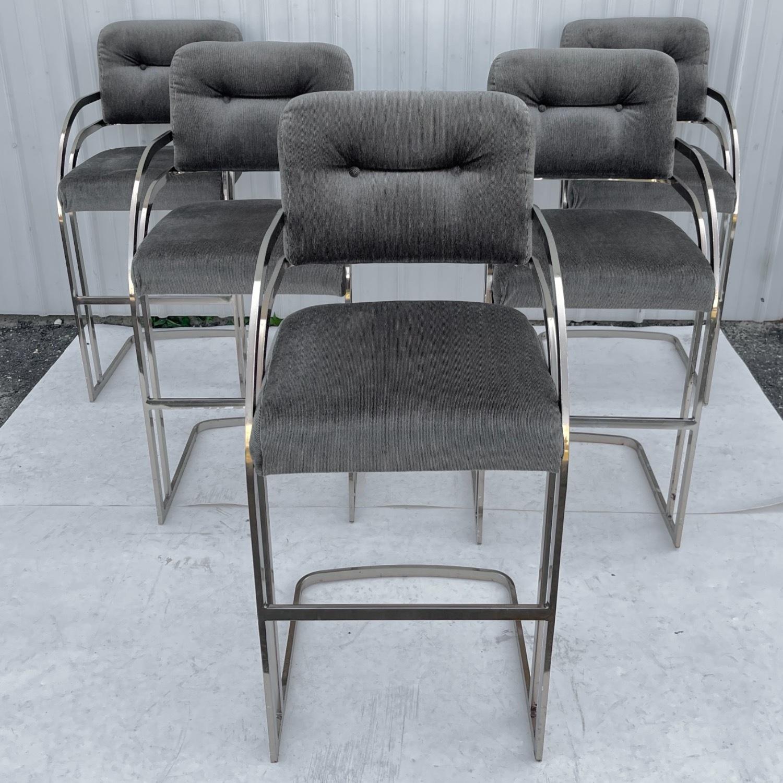 Vintage Modern Barstool by Daystrom Furniture - image-13