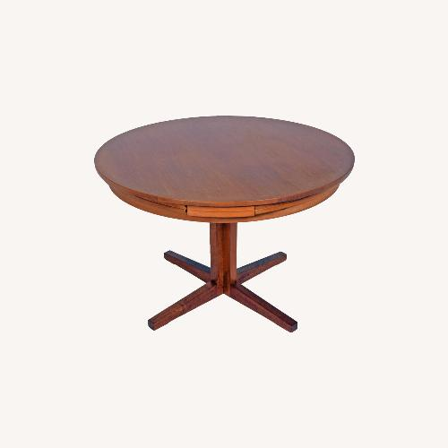 "Used Teak ""Lotus"" or ""Flip Flap"" Table by Dyrlund for sale on AptDeco"