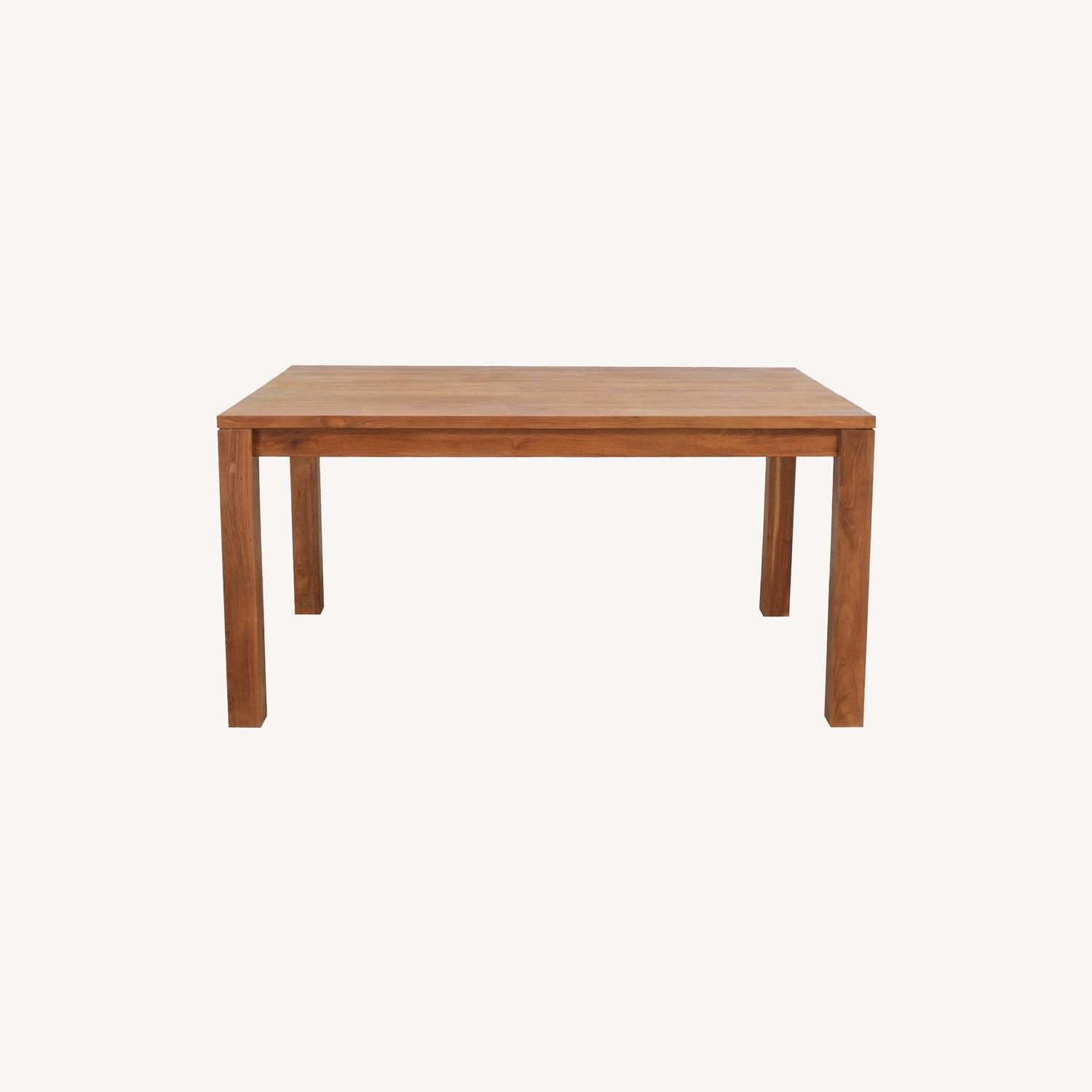 Crate & Barrel Pacifica Dining Table - image-0