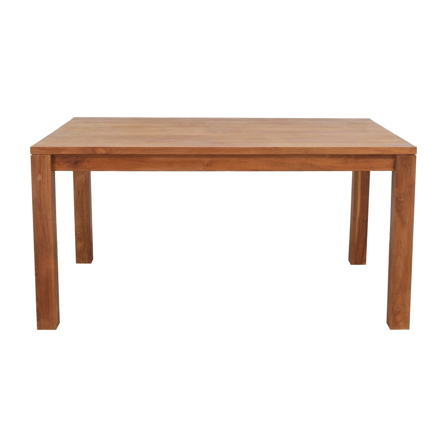 Crate & Barrel Pacifica Dining Table - image-1