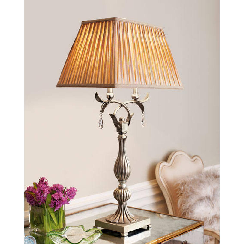 Horchow Floraine Table Lamp - image-4