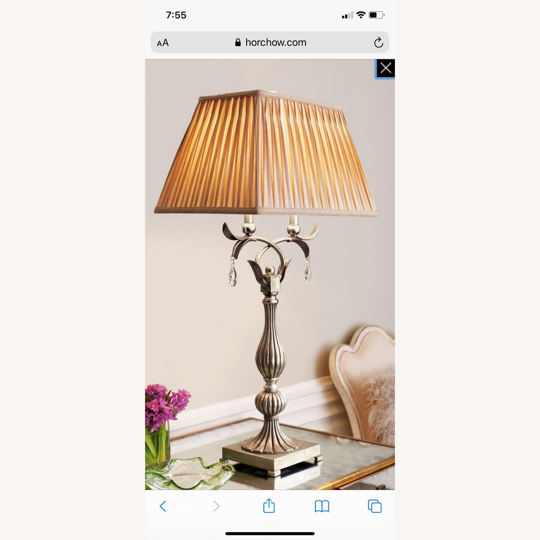 Horchow Floraine Table Lamp - image-1