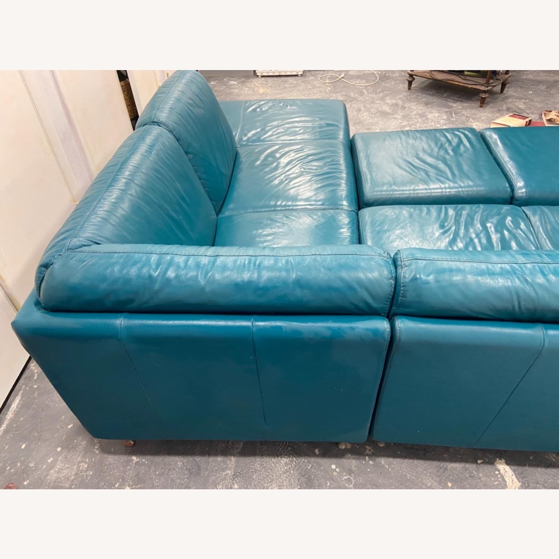 IKEA HAMRA Blue Sectional - image-5