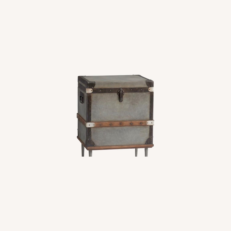 Pottery Barn Kirkwood Trunk End Table - image-0