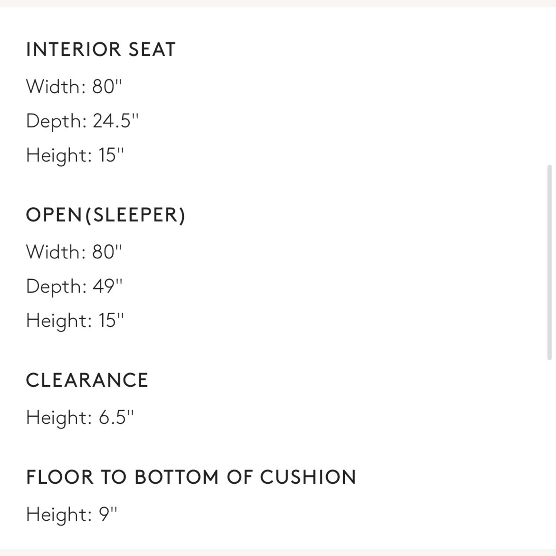 CB2 Flex Sleeper Sofa - image-3