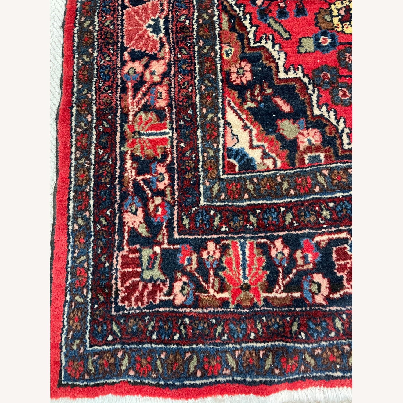 Vintage Handcrafted Persian Hamden Rug - image-4