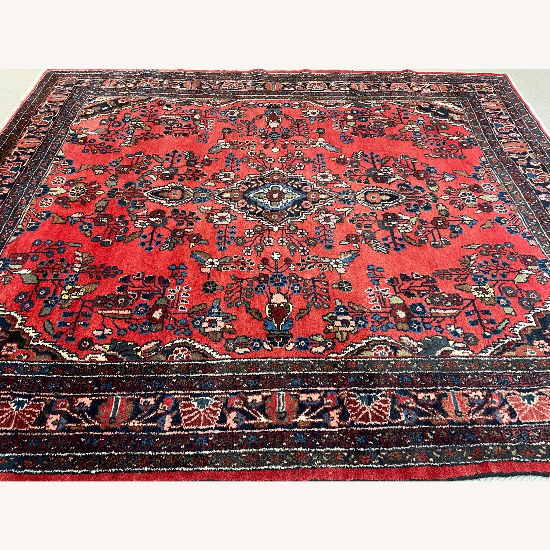 Vintage Handcrafted Persian Hamden Rug - image-2