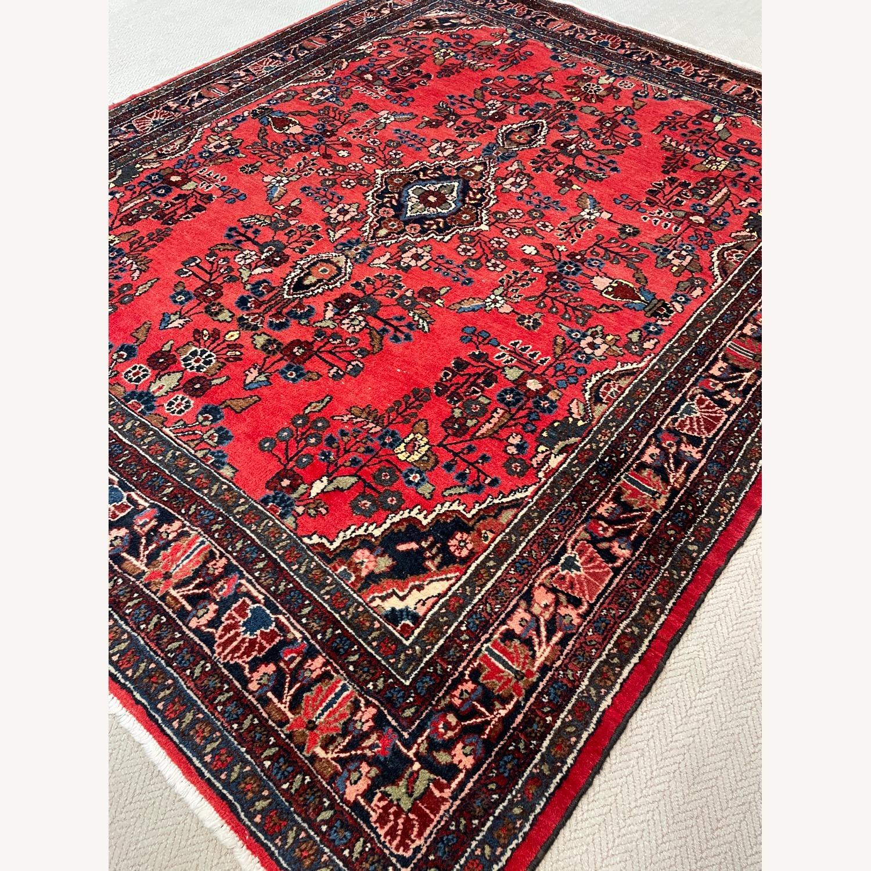 Vintage Handcrafted Persian Hamden Rug - image-3