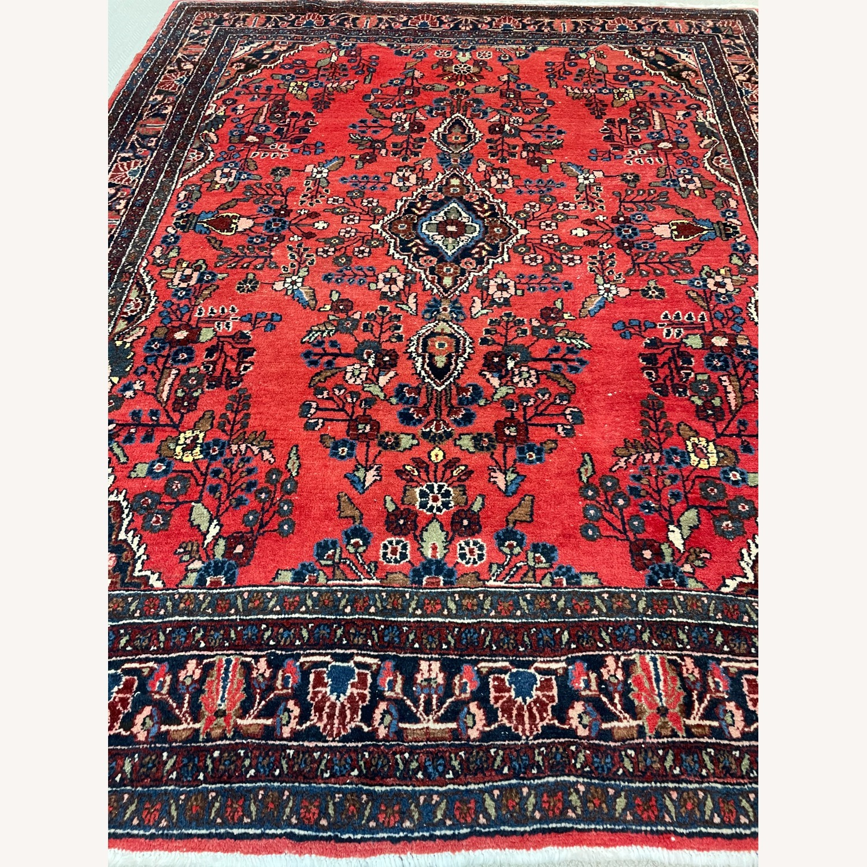 Vintage Handcrafted Persian Hamden Rug - image-1
