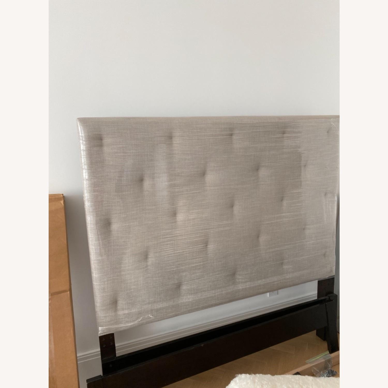 West Elm Diamond Tufted Bed - image-2