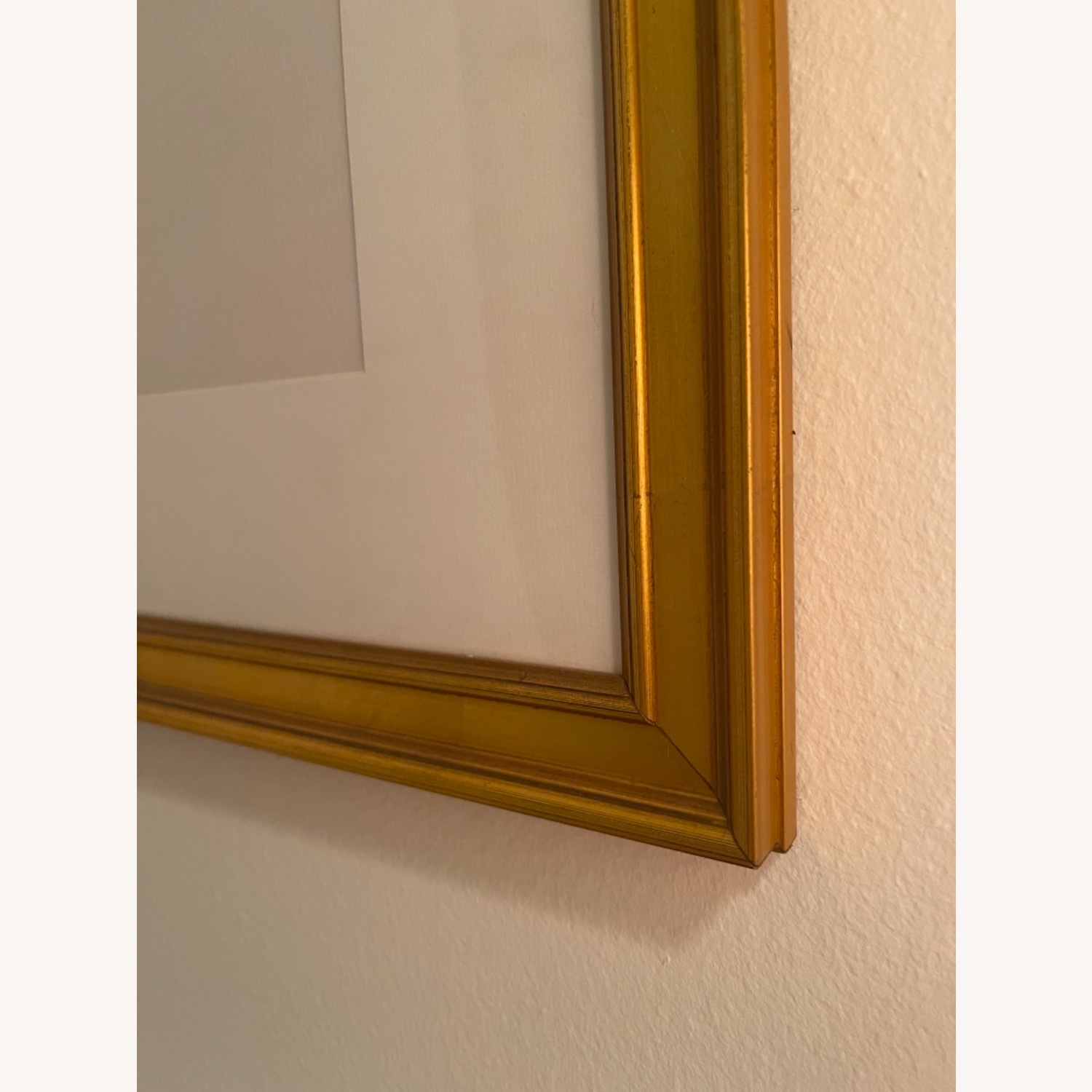 Dahlia in Gold Frame Wall Art - image-2