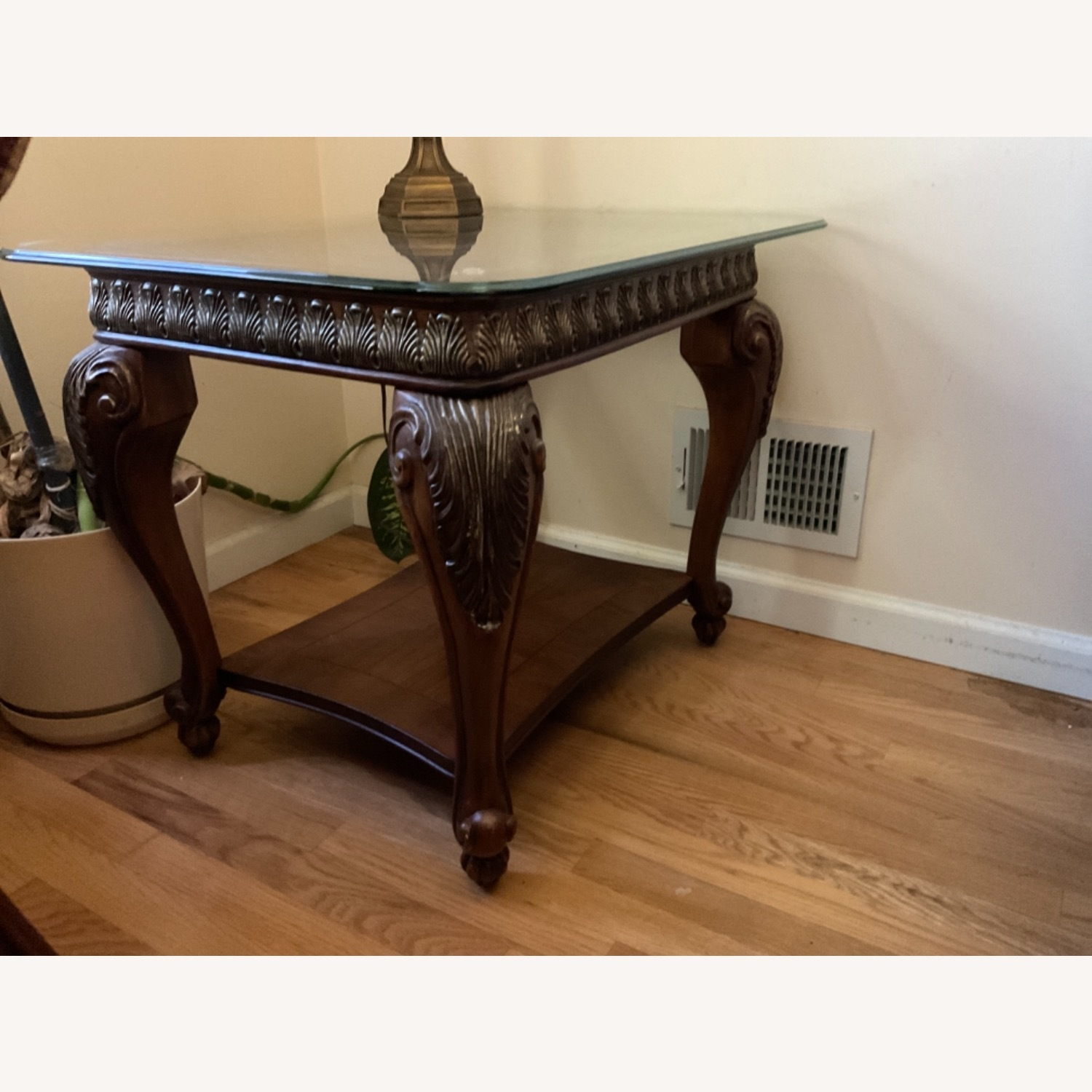 Glass Top Side Tables - image-3