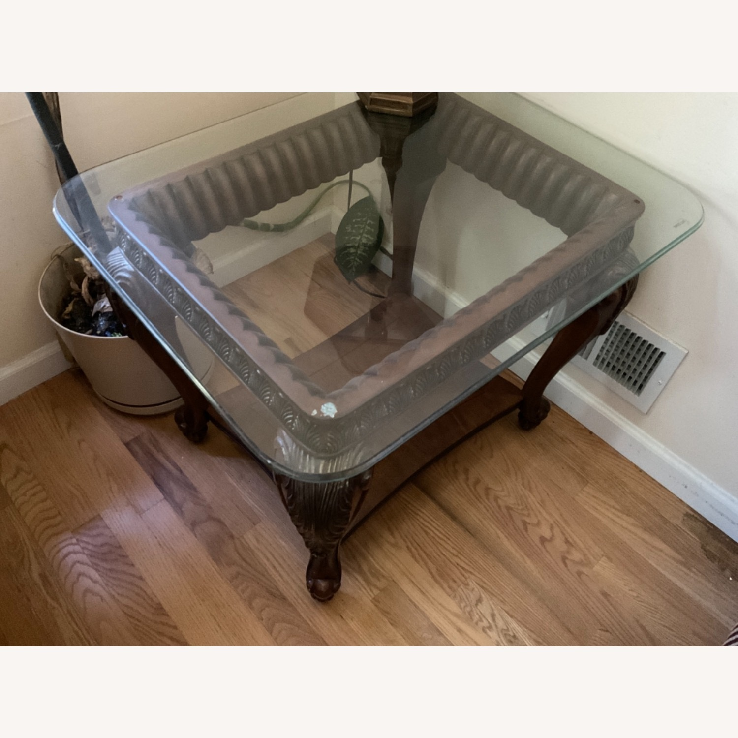 Glass Top Side Tables - image-2