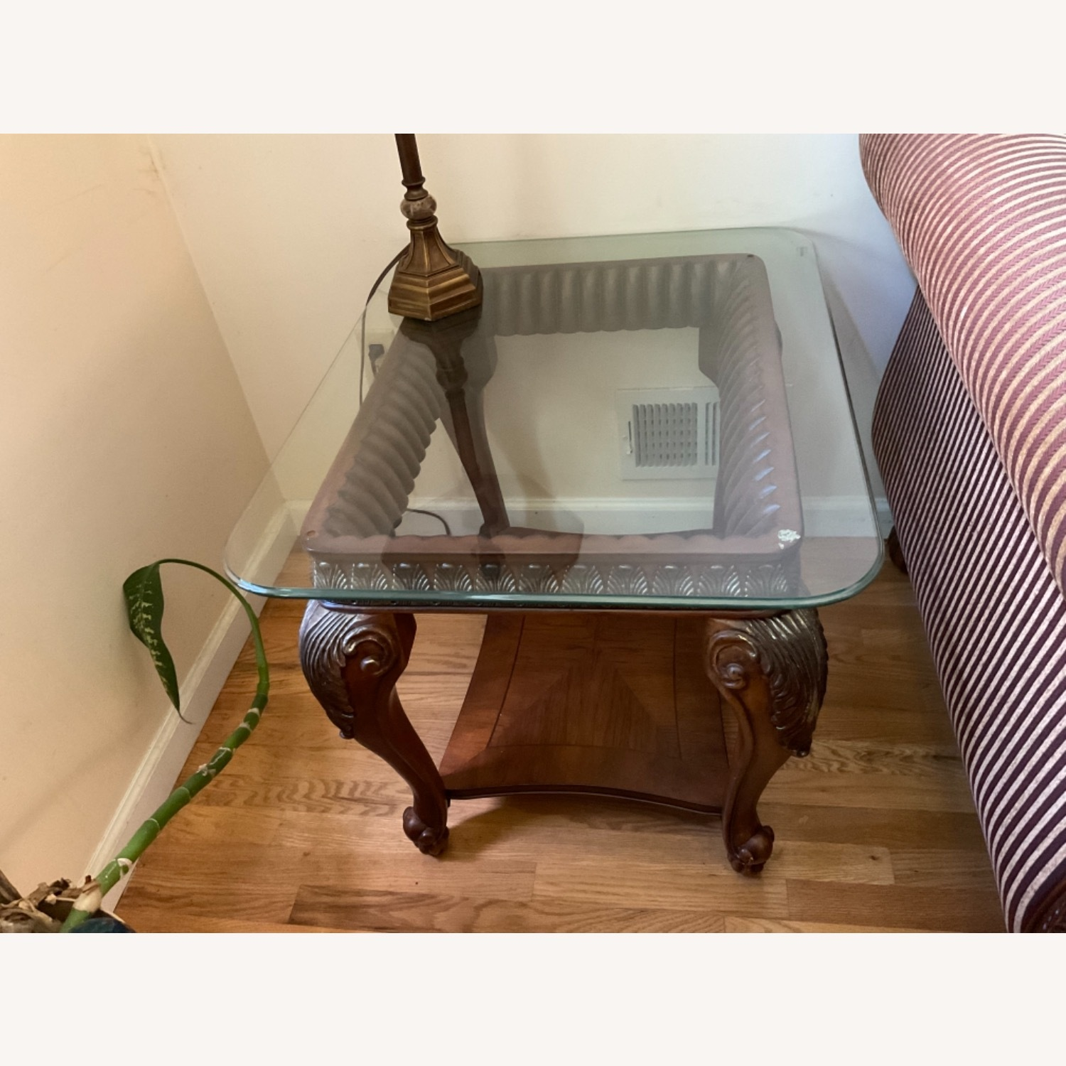 Glass Top Side Tables - image-1