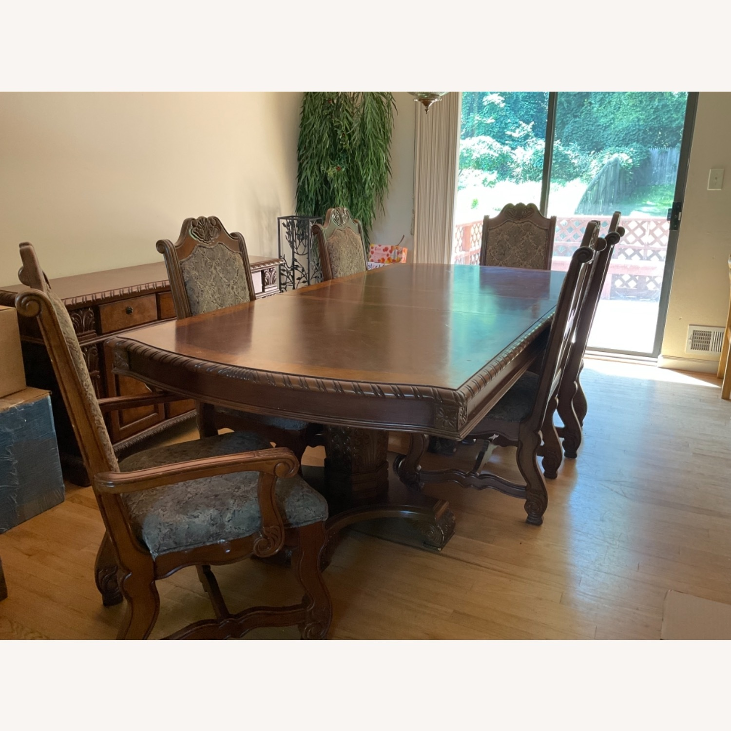 Expandable Formal Dining Room Table - image-1