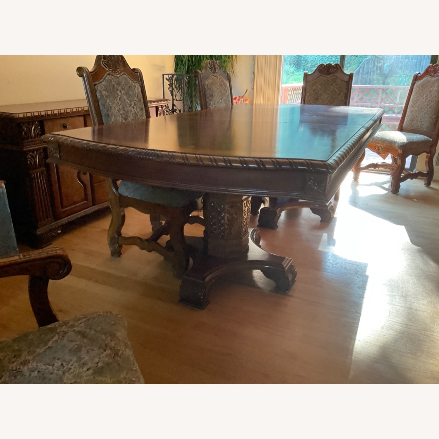 Expandable Formal Dining Room Table - image-3