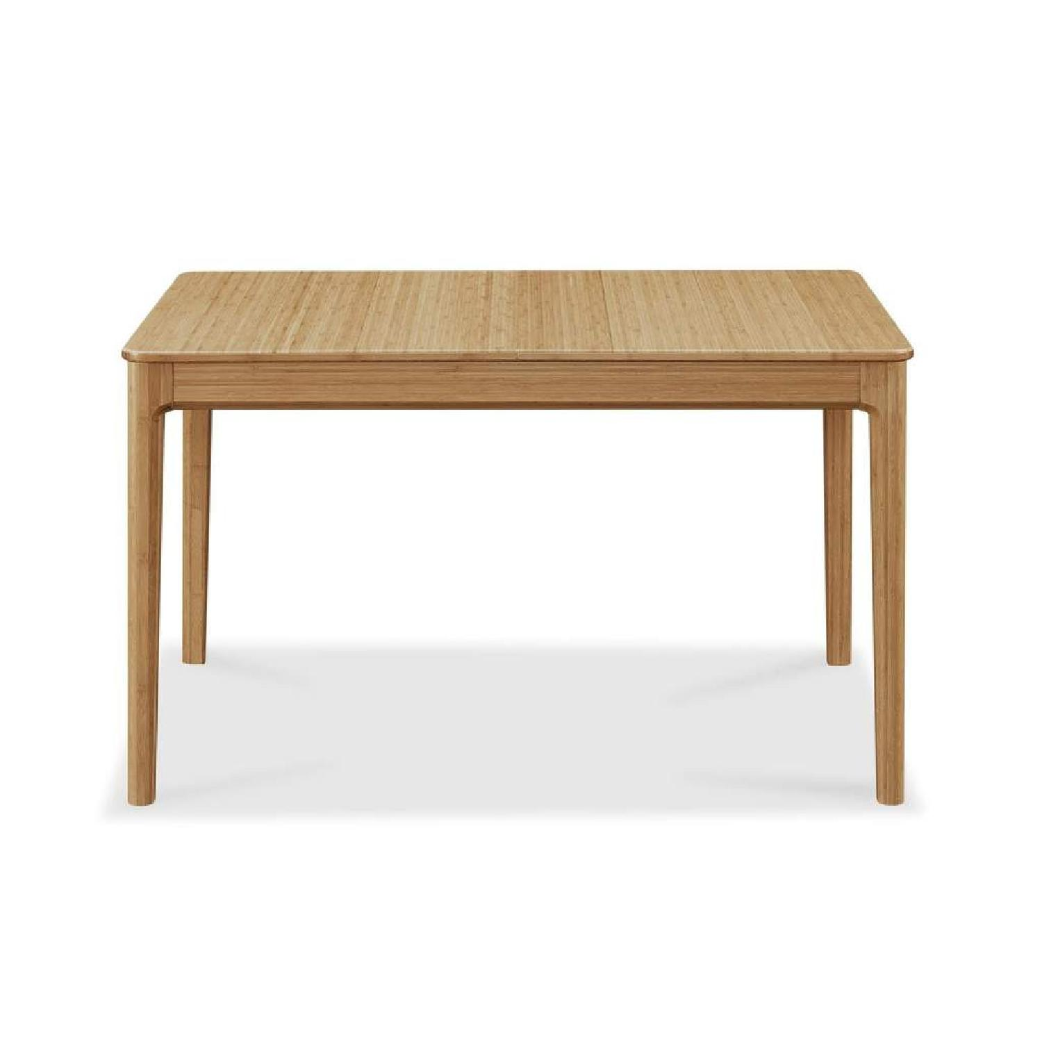 Bamboo Extendable Dining Table - image-6