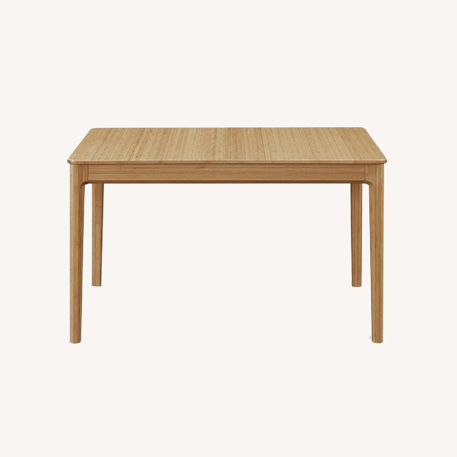 Bamboo Extendable Dining Table - image-0