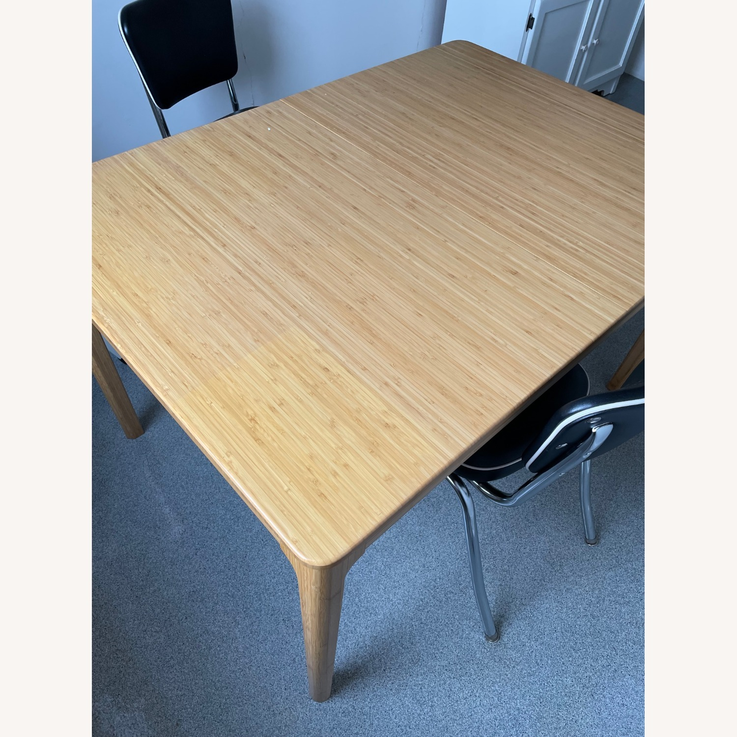 Bamboo Extendable Dining Table - image-3