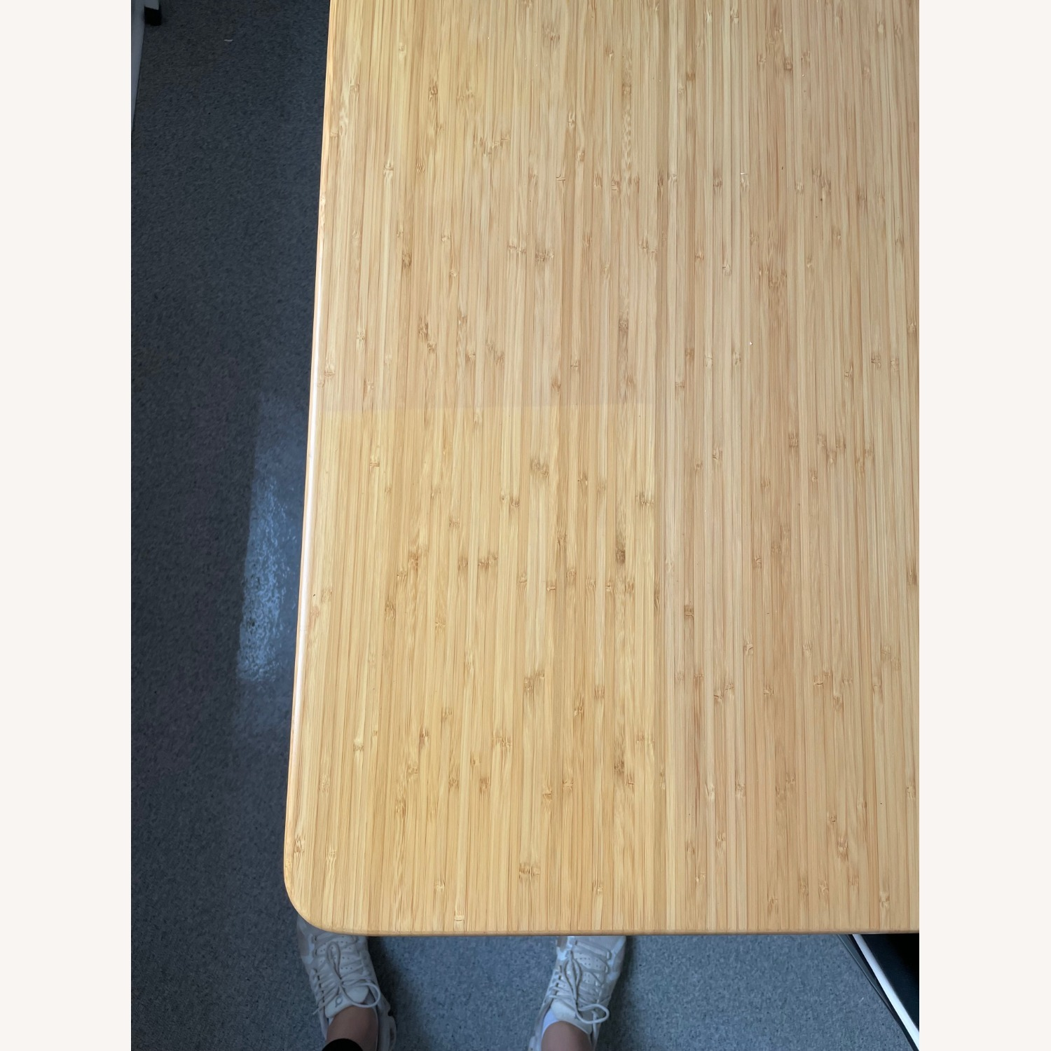 Bamboo Extendable Dining Table - image-2