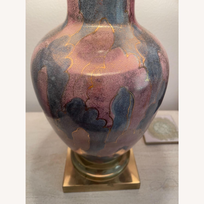 Vintage Gilt Lamp - image-2