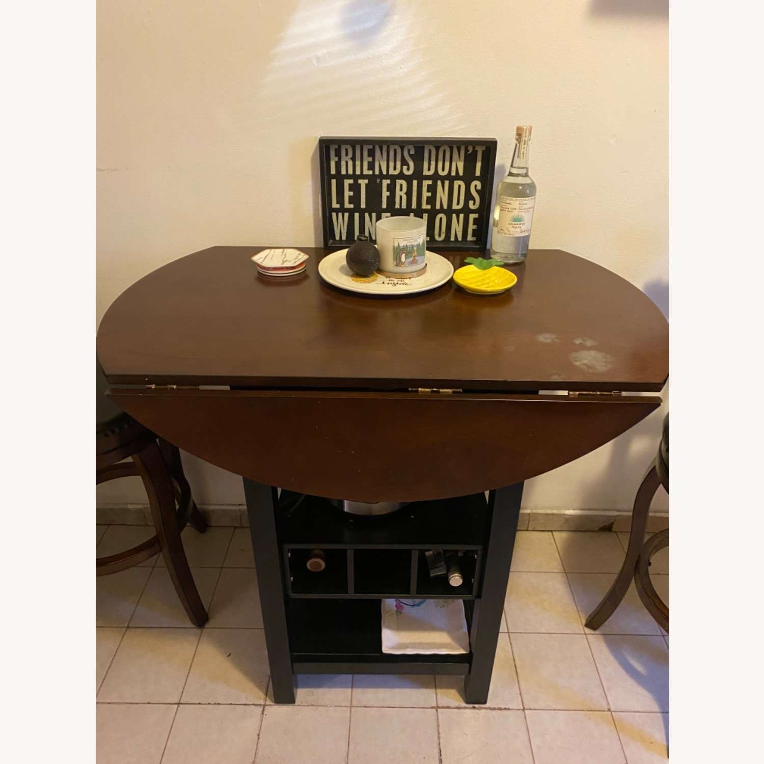 Pub Style Kitchen Table with Chairs - image-3