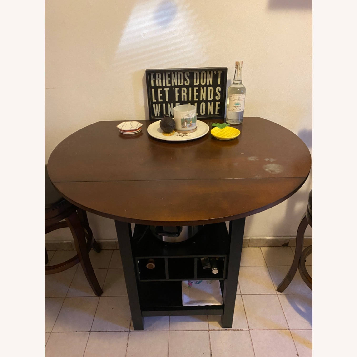 Pub Style Kitchen Table with Chairs - image-4
